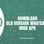 Whatsapp Mod Apk Old Version for Andriod